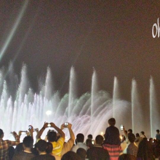 Photo taken at King Abdullah Park by ohoud. . on 10/17/2013