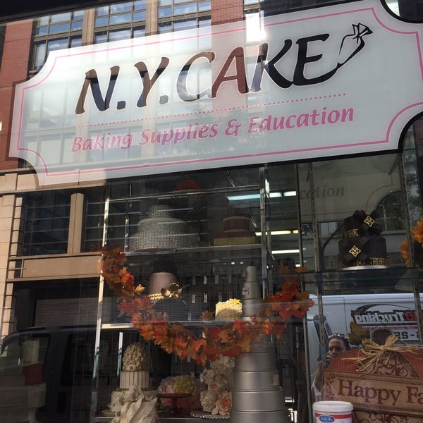 Photo taken at NY Cake & Baking by Selin G. on 10/19/2016