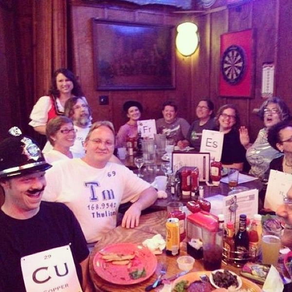 Photo taken at Manuel's Tavern by Wendy D. on 7/21/2013