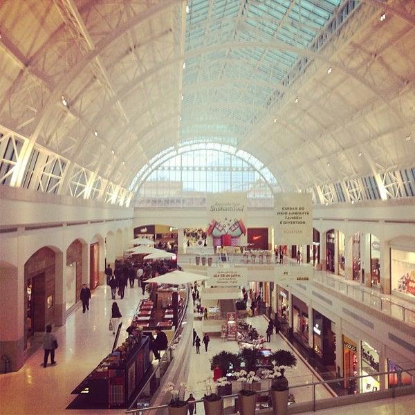 Photo taken at Shopping Iguatemi by Felipe S. on 7/18/2013
