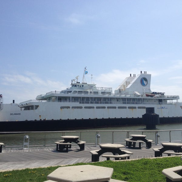 Photo taken at Cape May-Lewes Ferry | Cape May Terminal by Justin W. on 4/18/2013