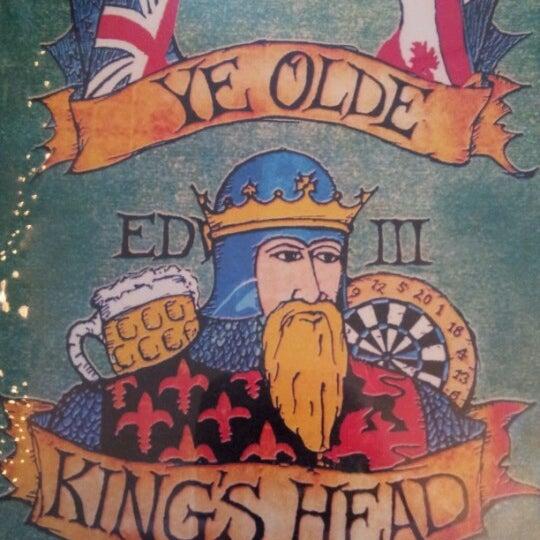 Photo taken at Ye Olde King's Head by Adrian E. on 12/19/2012