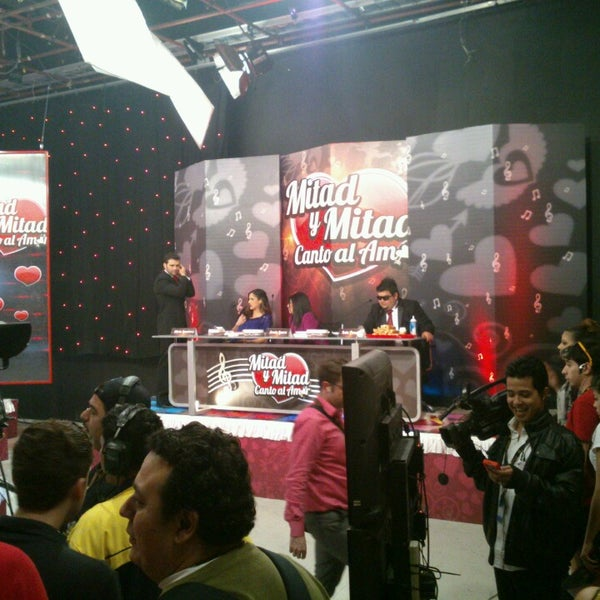 Photo taken at Multimedios Televisión by Kike N. on 2/14/2013