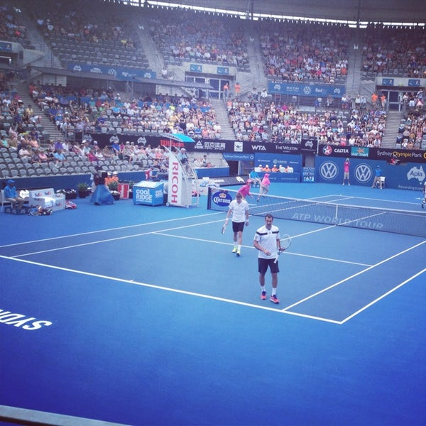 Photo Taken At Sydney Olympic Park Tennis Centre By Theo D On 1 11