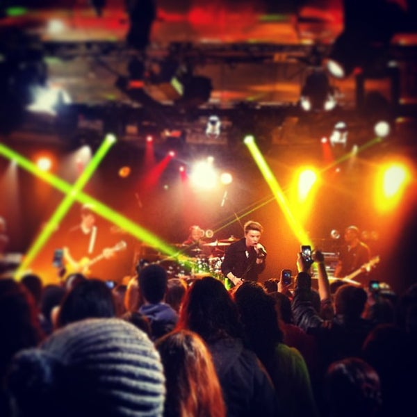Photo taken at iHeartRadio Theater by Tracy B. on 1/9/2013