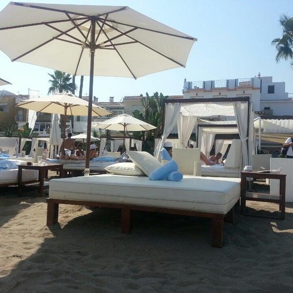 Foto tomada en Playa Miguel Beach Club por Jos V. el 9/20/2013