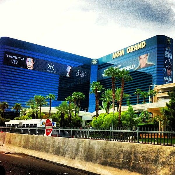 Photo taken at MGM Grand Hotel & Casino by Marinka M. on 8/10/2013