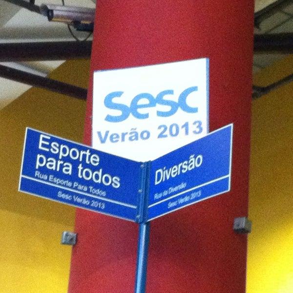 Photo taken at SESC Pinheiros by Vanessa A. on 1/19/2013