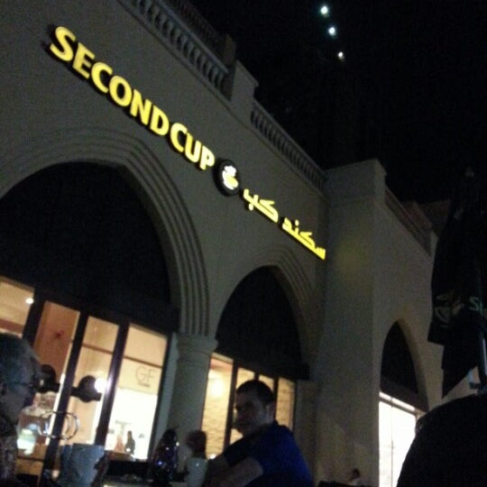 Photo taken at Second Cup by Nehad A. on 1/30/2013