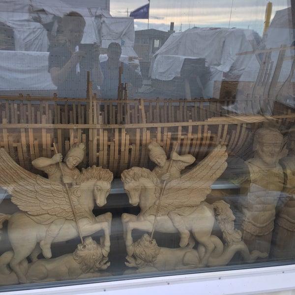 Снимок сделан в Историческая верфь «Полтава» пользователем Ruslan K. 7/19/2016