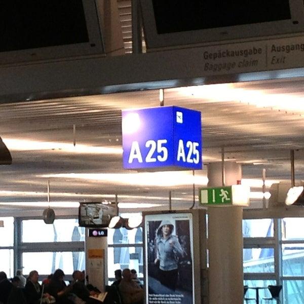 Photo taken at Gate A25 by Michael W. on 2/2/2013