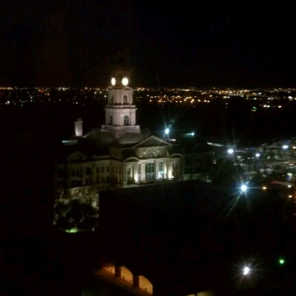 Photo taken at The Worthington Renaissance Fort Worth Hotel by Stephanie B. on 10/20/2012