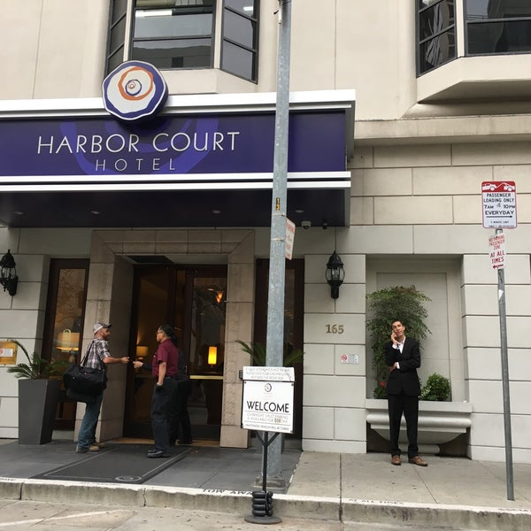 Photo taken at Harbor Court Hotel by Andrew T. on 10/24/2016