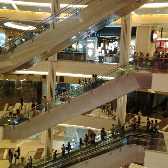 Photo taken at Pacific Place by Lucia P. on 1/15/2013