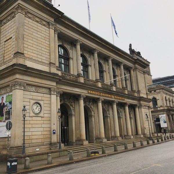 Photo taken at Hamburg Chamber of Commerce by yamasi on 1/8/2017