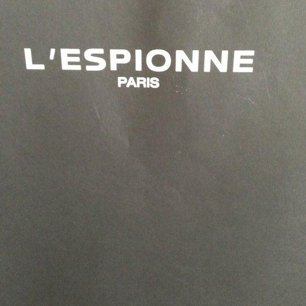 L\'espionne - Ternes - 2 place de la Porte Maillot