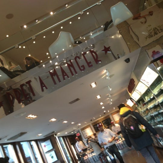 Photo taken at Pret A Manger by Charlie R. on 2/12/2013
