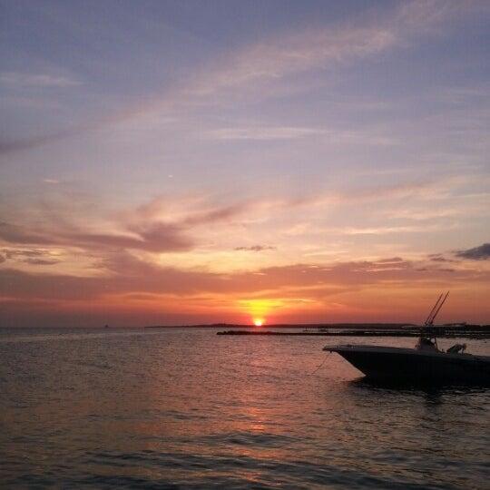 Photo taken at Playa El Yaque by Juan M. on 10/28/2012
