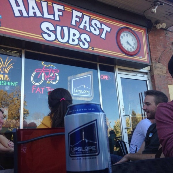 Photo taken at Half Fast Subs by Trevor D. on 10/24/2014