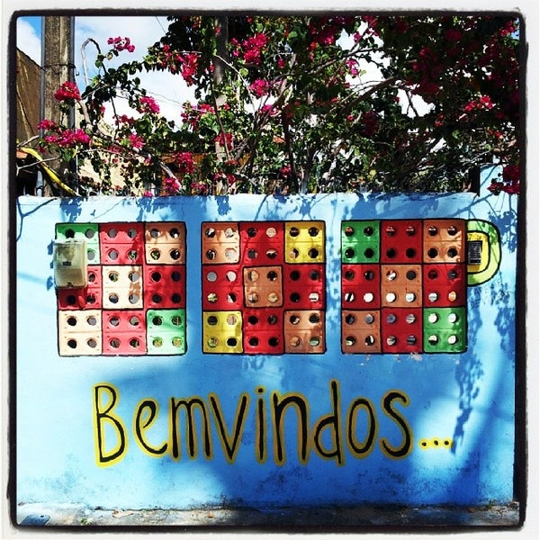 Foto tirada no(a) La Rocca Brasil - Beach Hostel Porto de Galinhas por Mauro M. em 3/8/2014