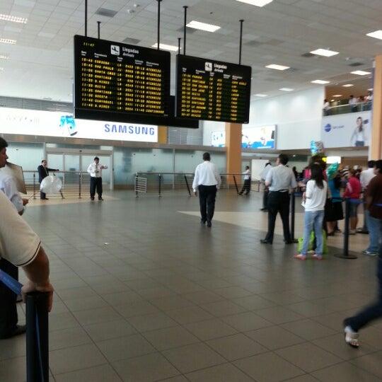 Photo taken at Jorge Chávez International Airport (LIM) by Livia R. on 12/18/2012
