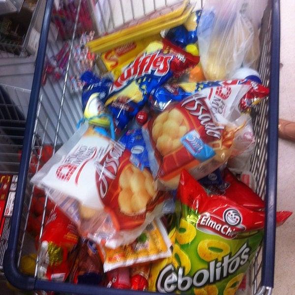 Photo taken at Carrefour by Anna Lúcia B. on 2/18/2013
