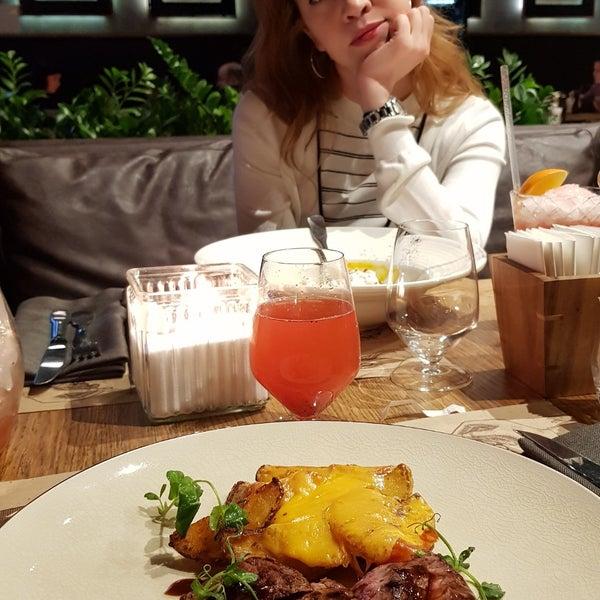 Photo taken at Жаръ Grill & Bar by Дмитрий С. on 2/11/2018