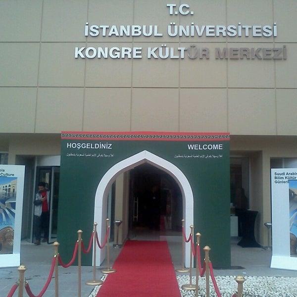 3/28/2013 tarihinde B Y.ziyaretçi tarafından İstanbul Üniversitesi Kongre Kültür Merkezi'de çekilen fotoğraf