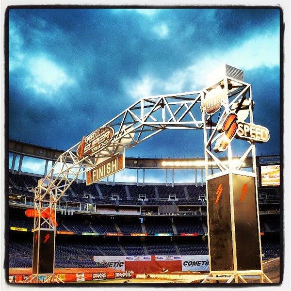 Photo taken at Qualcomm Stadium by Joe L. on 5/5/2013