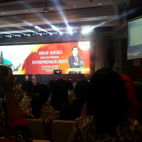 Photo taken at Bali International Convention Centre (BICC) by Francisca K. on 5/21/2016