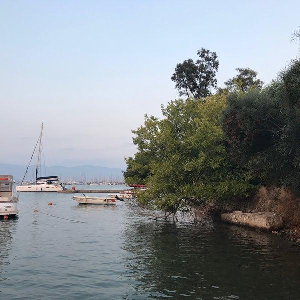 8/18/2017 tarihinde Esra M.ziyaretçi tarafından Fethiye Yengeç Restaurant'de çekilen fotoğraf