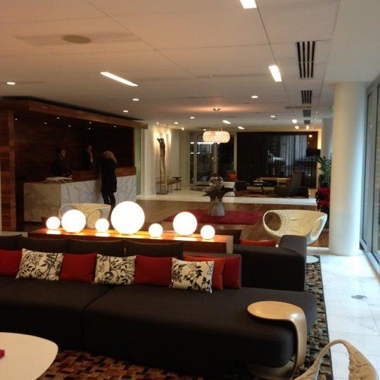 Photo taken at Hotel Modera by Tina P. on 12/7/2012