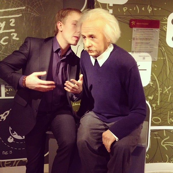 Photo taken at Madame Tussauds by Mikhail M. on 1/6/2013
