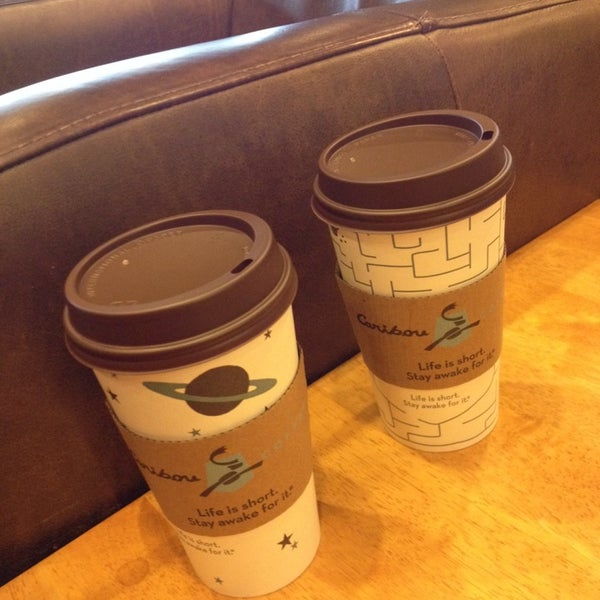 Photo taken at Caribou Coffee by Kimarie T. on 6/15/2014