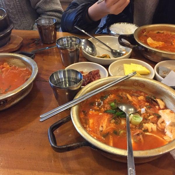 1/21/2016에 PP L.님이 김북순 큰남비집에서 찍은 사진