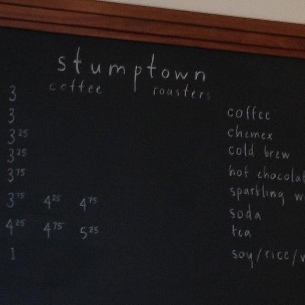 Photo taken at Stumptown Coffee Roasters by Ben O. on 4/4/2013