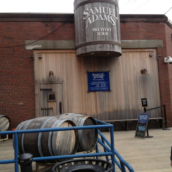Photo taken at Samuel Adams Brewery by where in the world is GH on 3/14/2013