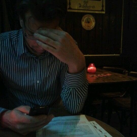Снимок сделан в Cafe de Schutter пользователем Arno P. 10/29/2012