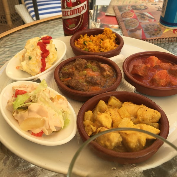 Bar am rica playa carihuela food for Food bar 8 0