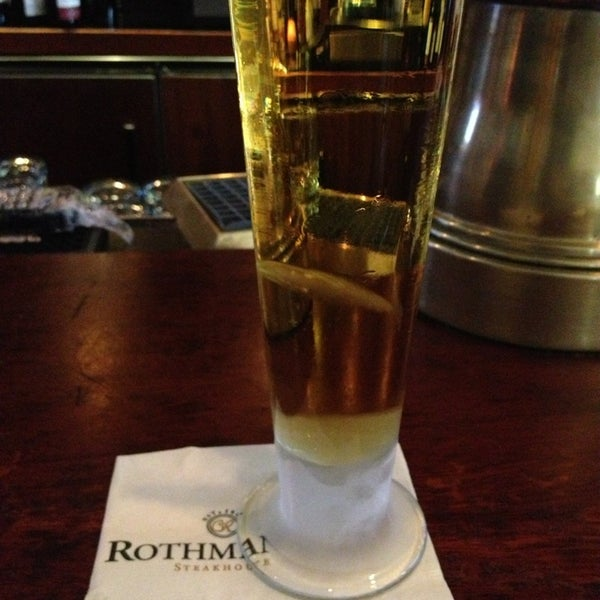 Photo taken at Rothmann's Steakhouse by Bonnie P. on 6/6/2013