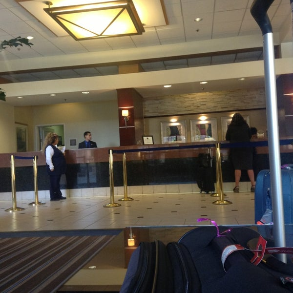 Photo taken at Four Points by Sheraton Los Angeles International Airport by Tomas D. on 1/10/2013
