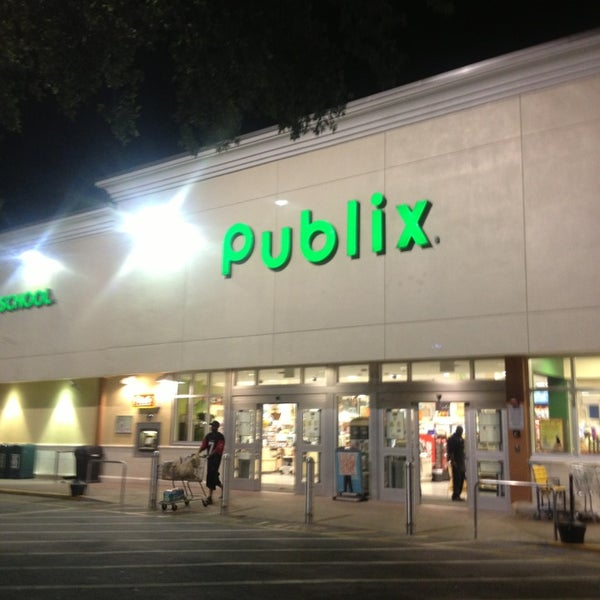 Publix Grocery Store In Plantation