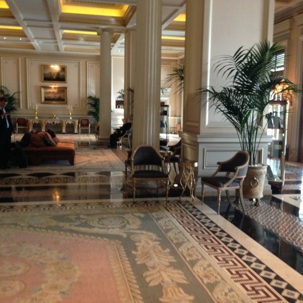 Photo taken at Hotel Grande Bretagne by Anna B. on 2/8/2013
