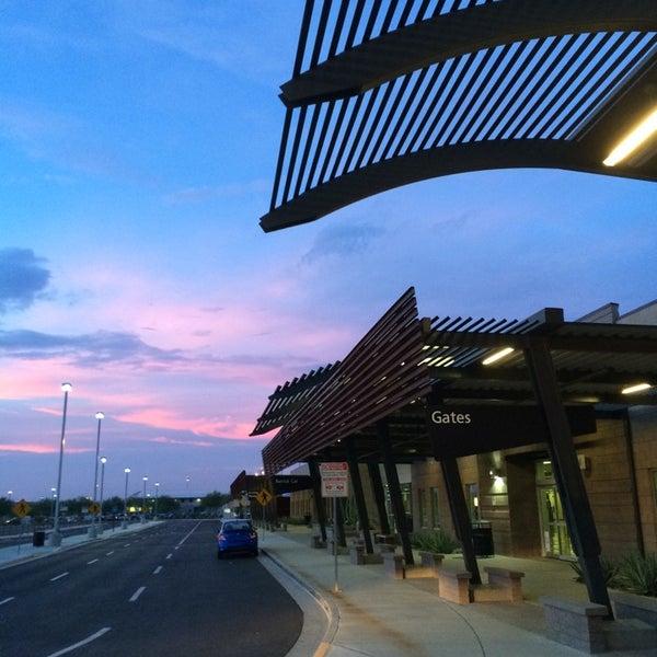 Photo taken at Phoenix-Mesa Gateway Airport (AZA) by Brad K. on 9/27/2014