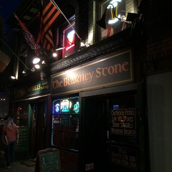 Photo taken at Blarney Stone Bar & Restaurant by Brad K. on 10/5/2015
