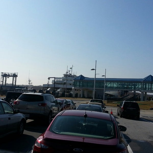 Photo taken at Cape May-Lewes Ferry | Cape May Terminal by Jaqutia S. on 2/24/2013