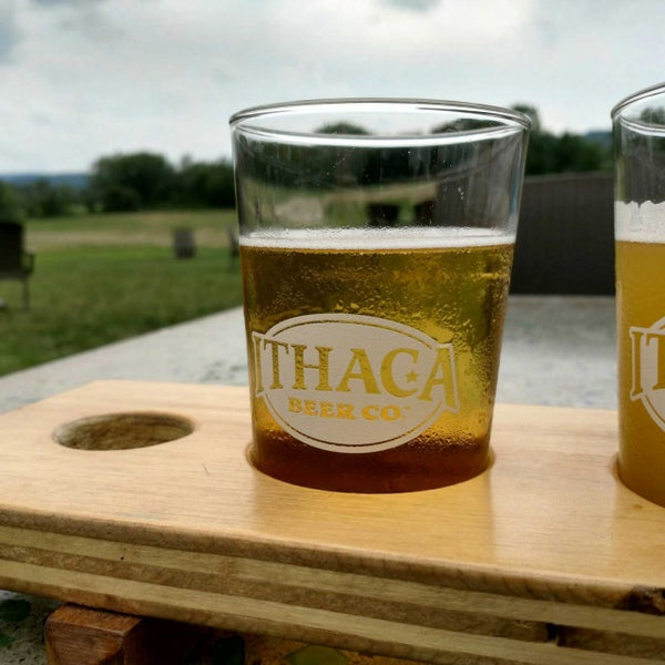 Photo taken at Ithaca Beer Co. Taproom by Morgan B. on 8/12/2017