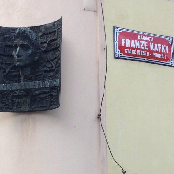 5/25/2013 tarihinde Wayne S.ziyaretçi tarafından Franz Kafka Museum'de çekilen fotoğraf