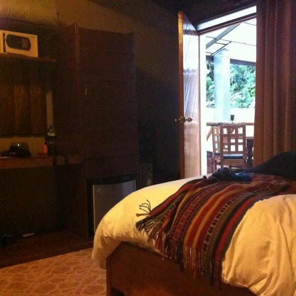 Foto tomada en Hotel La Cabaña Machupicchu por Angela A. el 2/4/2013