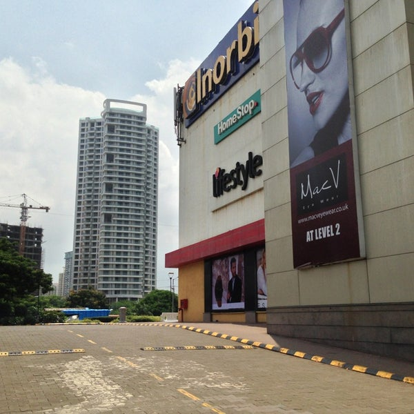 Photo taken at Inorbit Mall by Amr A. on 9/2/2013